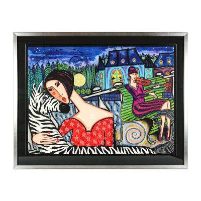 Ett verk av Angelika Wiik.