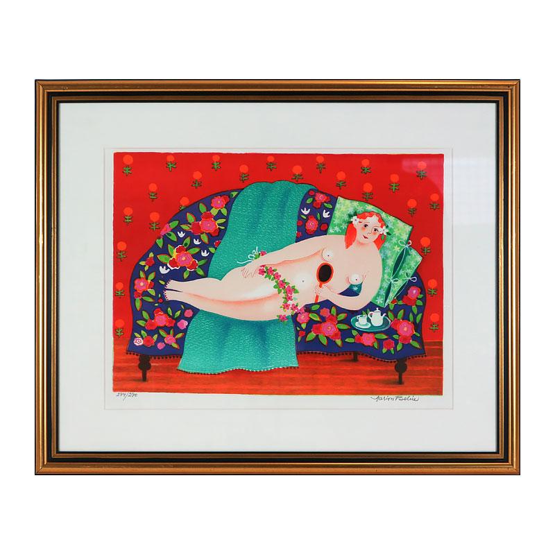 Ett verk av Marion Belin.