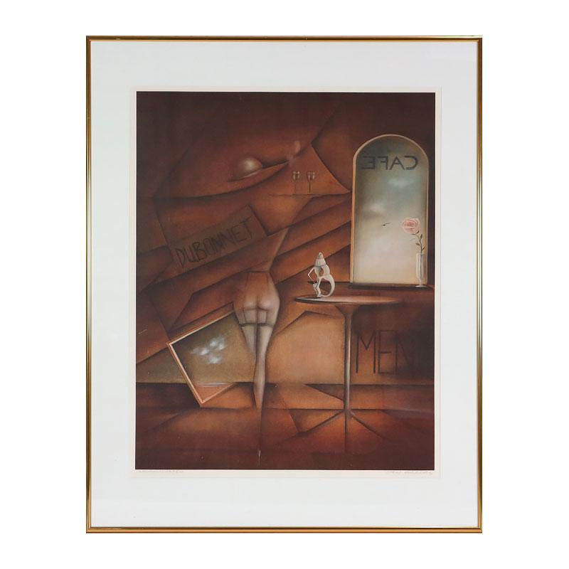 Ett verk av Sten Ahlberg.