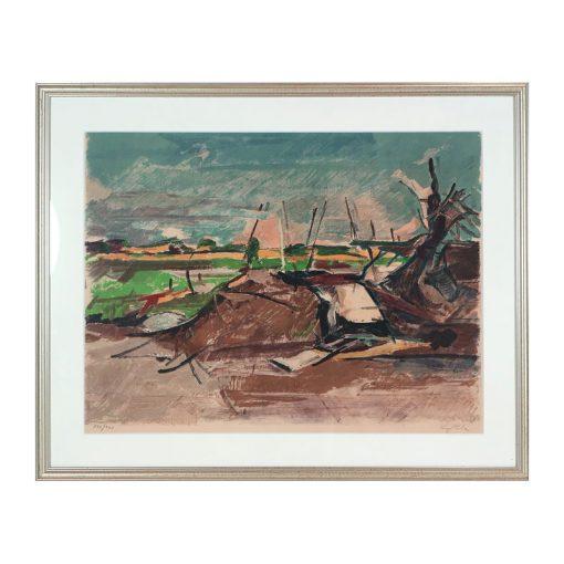 Ett verk av Hugo Zuhr.