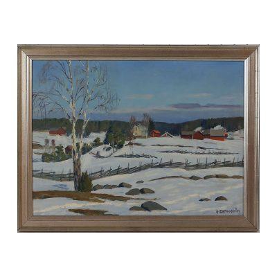 Ett verk av G Zetterström.
