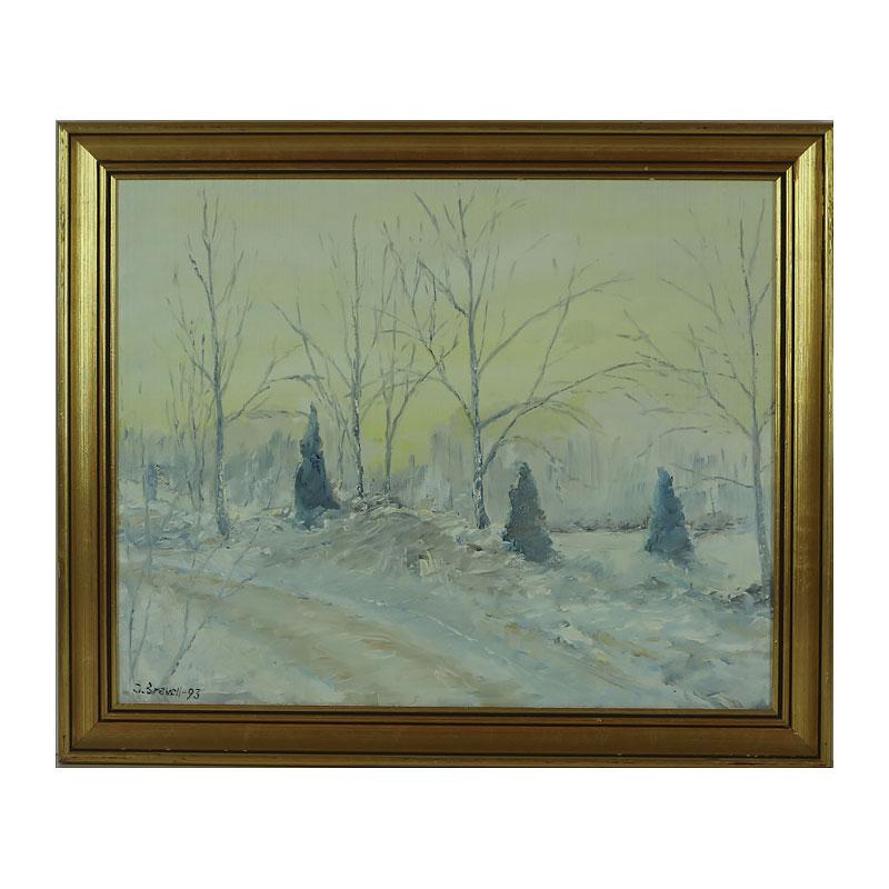 Ett verk av Olof Bravell.