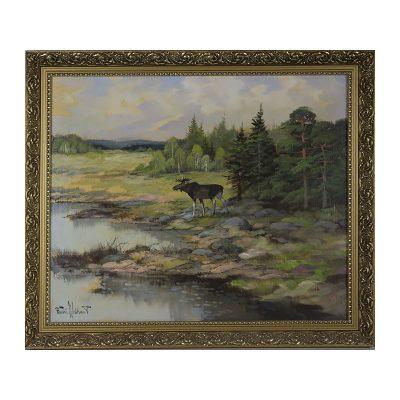 Ett verk av Bertil Widbrant.