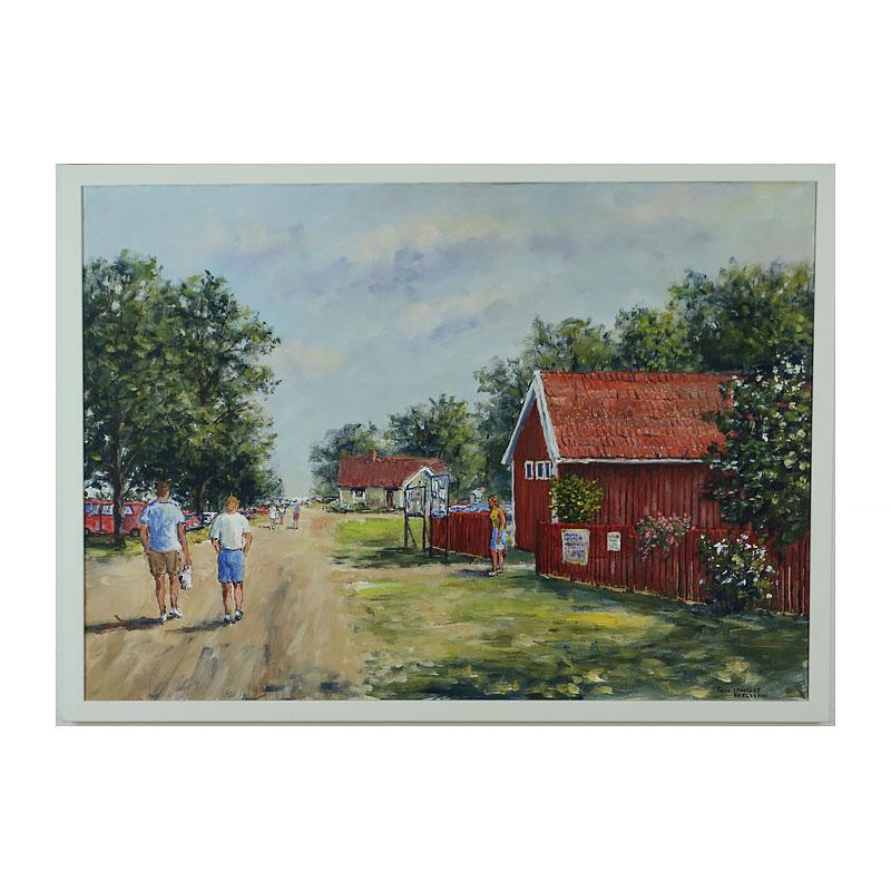 Ett verk av Egon Lennart Karlsson.