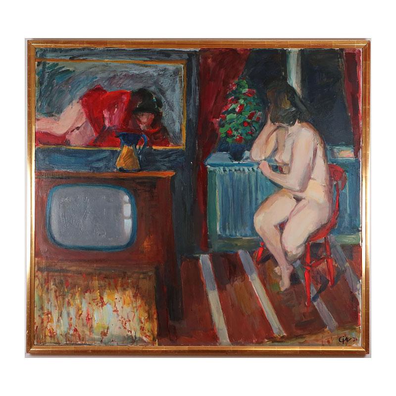 Ett verk av Calle Johansson.