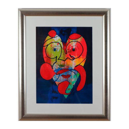 Ett verk av Gunilla Gessle.