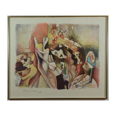 Ett verk av Acke Oldenburg.