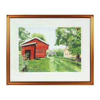 Ett verk av Björn Gidstam.