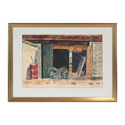 Ett verk av Tage E Nilsson.