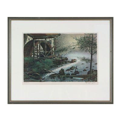 Ett verk av Reinholt Ljunggren.