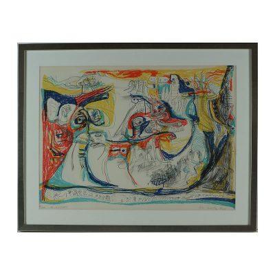 Ett verk av Lis Zwick.
