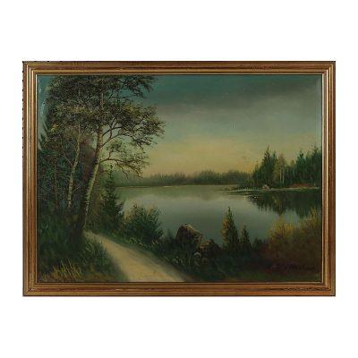 Ett verk av Gösta Wilhelm.