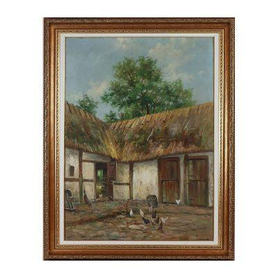 Ett verk av Frans Wilhelm Odelmark.