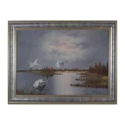 Ett verk av Walter Liljenberg.