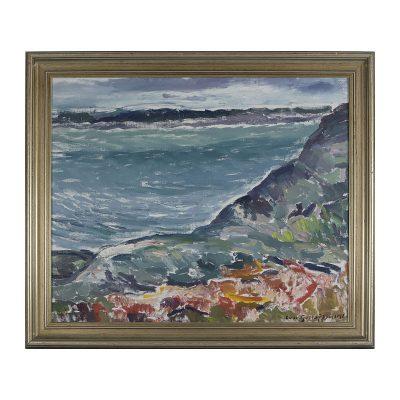 Ett verk av Ivar Gustavsson.