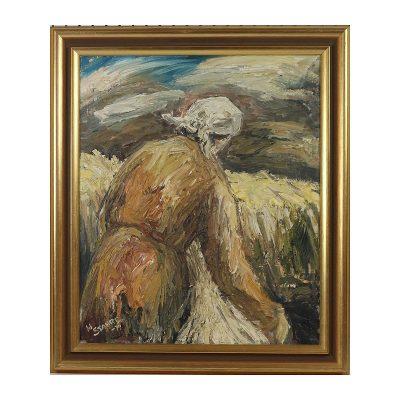 Ett verk av H Stahre.