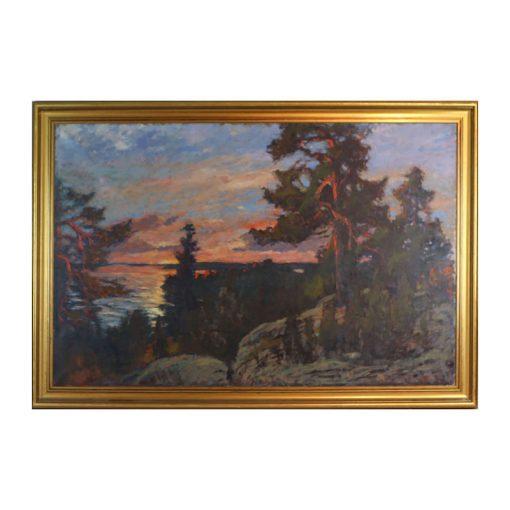 Ett verk av Frans Gard.