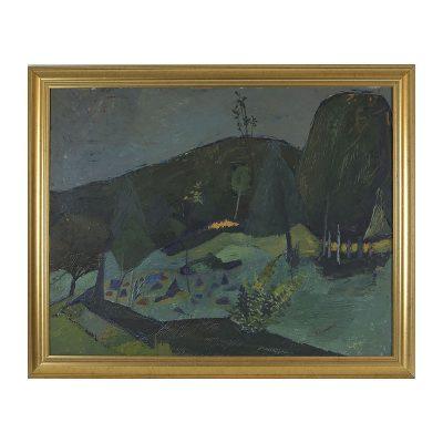 Ett verk av Armand Rossander.