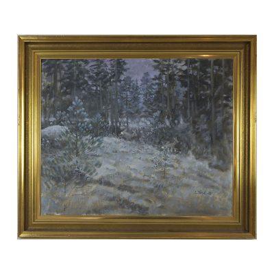 Ett verk av Lennart Frisk.