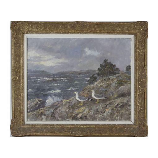 Ett verk av Johannes Ravn.