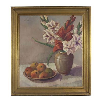 Ett verk av Bela Hradil.