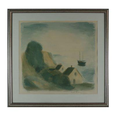 Ett verk av Gustav Rudberg.