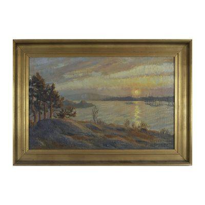 Ett verk av Karl Bergman.