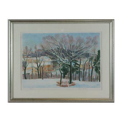 Ett verk av Einar Rosén.