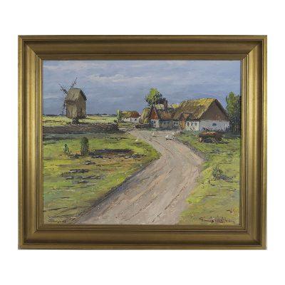 Ett verk av Jimmie Lindholm.