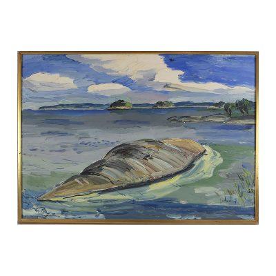 Ett verk av Göran Brunius.