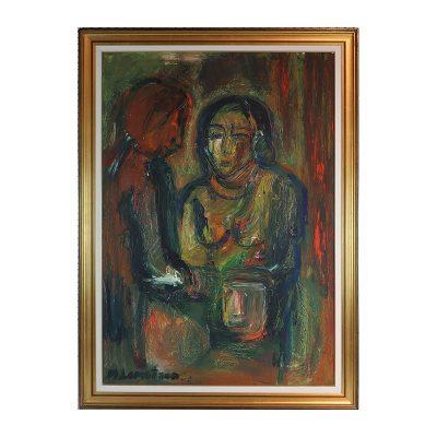 Ett verk av Monica Lorentzon.