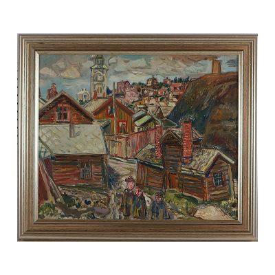 Ett verk av Olle Nordberg.