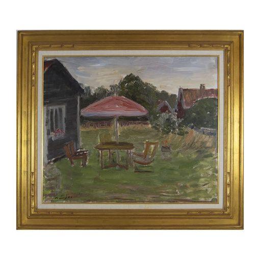 Ett verk av Gustav Sjöö.
