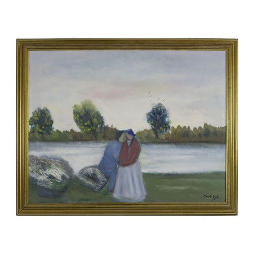 Ett verk av Charles Avdesjö.