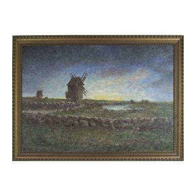 Ett verk av Ivan Hoflund.
