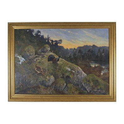Ett verk av Gösta Ydström.