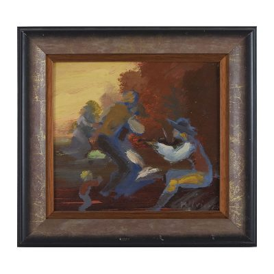 Ett verk av Fulvio Pentassuglia.