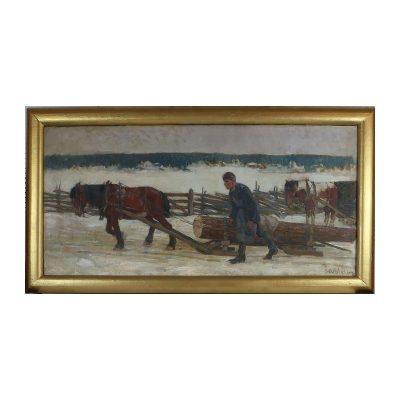 Ett verk av Hugo Carlberg.