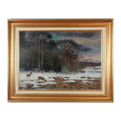 Ett verk av Lindorm Liljefors.