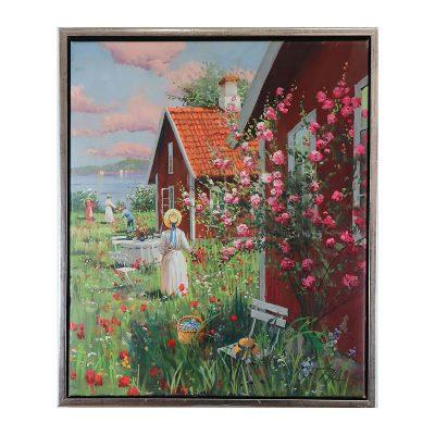 Ett verk av Roald Hansen.