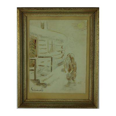Ett verk av Isaac Grünewald.