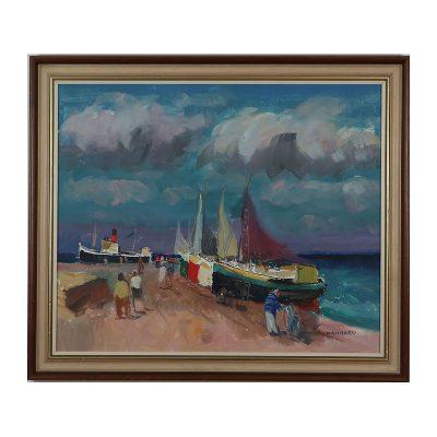 Ett verk av Axel Hamborn.