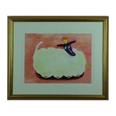 Ett verk av Bessie Johansson.