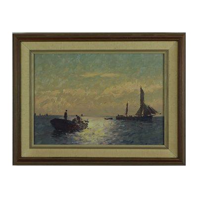 Ett verk av Emil Ekman.