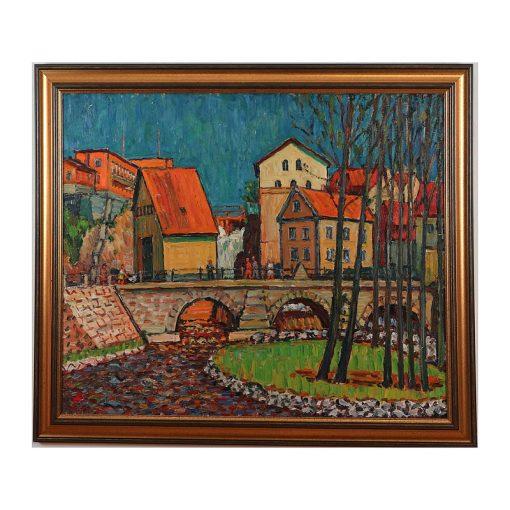 Ett verk av Gustaf Arnolds.