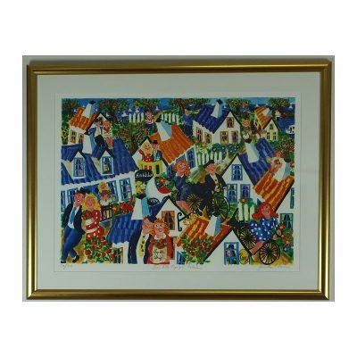 Ett verk av Gunilla Mann.