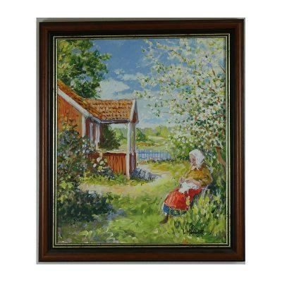 Ett verk av Lennart Möller.
