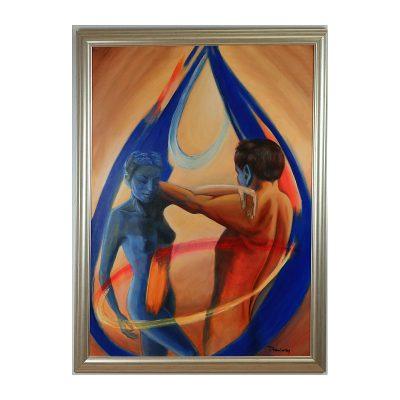 Ett verk av Ingrid Draminsky.
