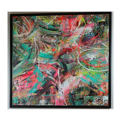 Ett verk av Kent Jensen.