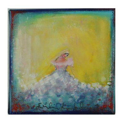 Ett verk av Emilia Linderholm.